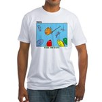 Hooked on Scouts Fitted T-Shirt