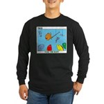 Hooked on Scouts Long Sleeve Dark T-Shirt