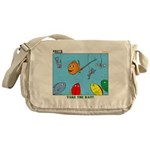Hooked on Scouts Messenger Bag