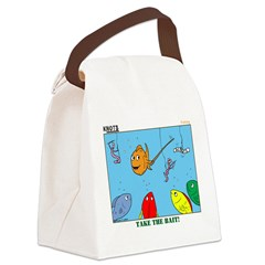 Hooked on Scouts Canvas Lunch Bag
