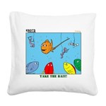Hooked on Scouts Square Canvas Pillow