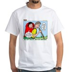 Backpacking Surprise White T-Shirt