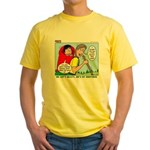 Backpacking Surprise Yellow T-Shirt