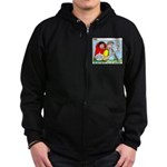 Backpacking Surprise Zip Hoodie (dark)