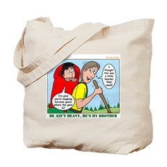 Backpacking Surprise Tote Bag