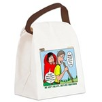 Backpacking Surprise Canvas Lunch Bag