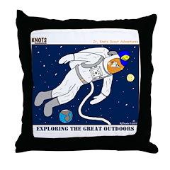 Great Outdoors Throw Pillow