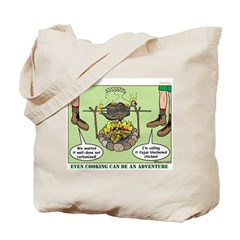 Cajun Cooking Tote Bag