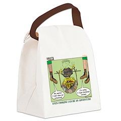 Cajun Cooking Canvas Lunch Bag