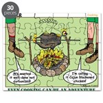 Cajun Cooking Puzzle