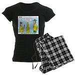 Climbing Knots Women's Dark Pajamas