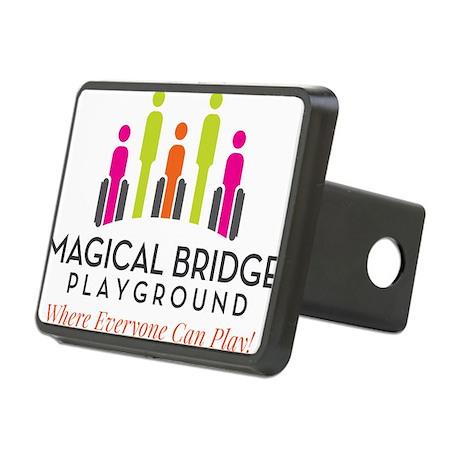 Magical Bridge Playground Rectangular Hitch Cover