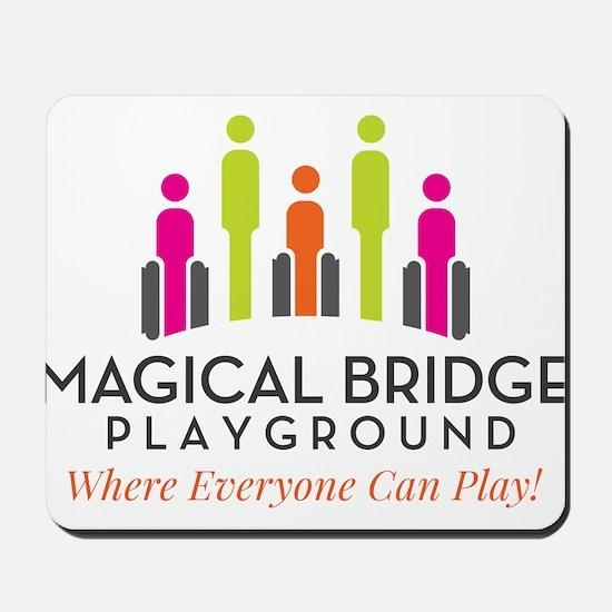 Magical Bridge Playground Mousepad