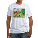 Woodland Critters Fitted T-Shirt
