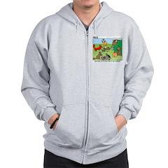 Woodland Critters Zip Hoodie