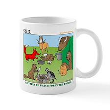 Woodland Critters Small Mugs