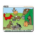 Woodland Critters Mousepad