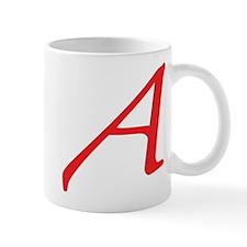 Atheism Scarlet Letter A Symbol Mug