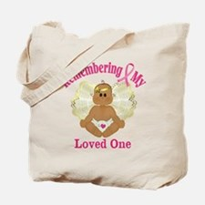 Remembrance Angel Tote Bag