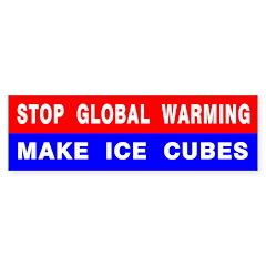 Stop Global Warming Bumper Bumper Sticker