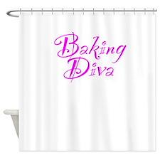 Baking Diva Shower Curtain