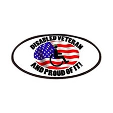 Proud Disabled Veteran Patches