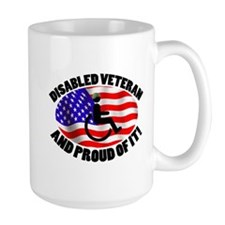 Proud Disabled Veteran Mug