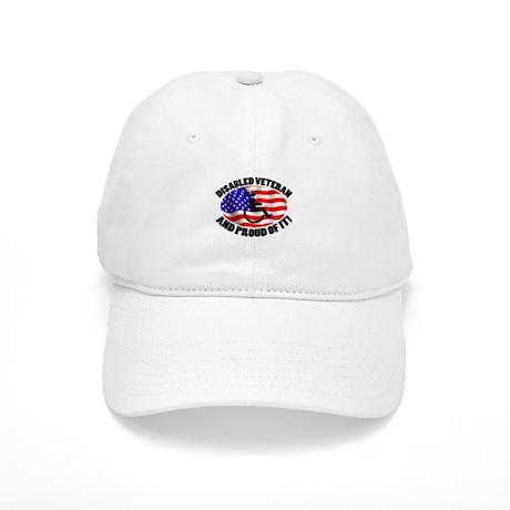 Proud Disabled Veteran Cap