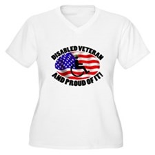 Proud Disabled Veteran T-Shirt
