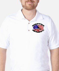 Proud Disabled Veteran T-Shirt