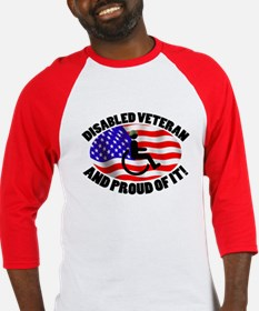Proud Disabled Veteran Baseball Jersey