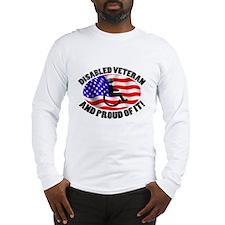 Proud Disabled Veteran Long Sleeve T-Shirt
