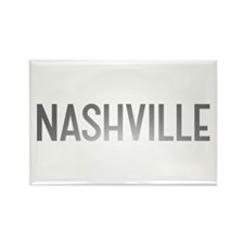 Nashville Rectangle Magnet