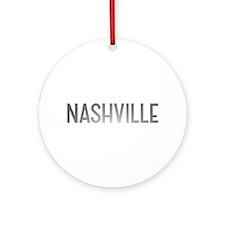 Nashville Ornament (Round)
