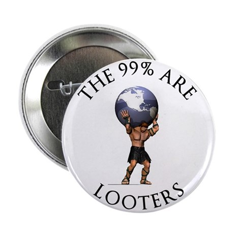 """Atlas 99% Looters, 2.25"""" Button"""