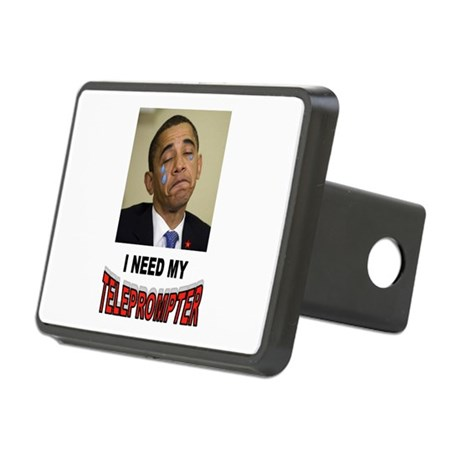 TELEPROMPTER ADDICT Rectangular Hitch Cover