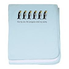 Penguins baby blanket