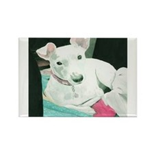 Jack Russell Terrier Sully Rectangle Magnet