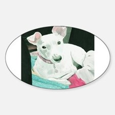 Jack Russell Terrier Sully Sticker (Oval)