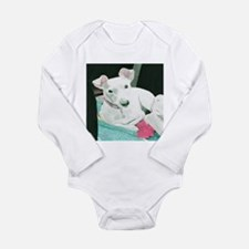 Jack Russell Terrier Sully Long Sleeve Infant Body