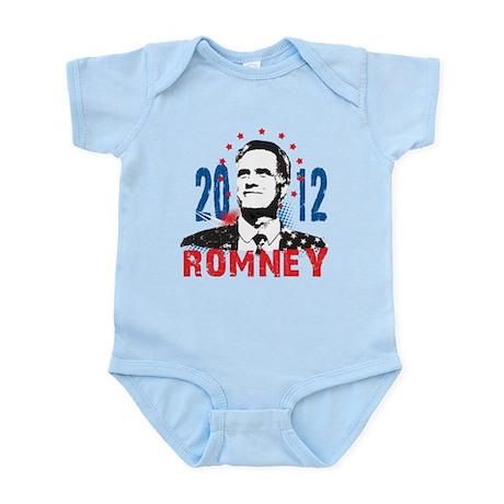 MITT ROMNEY FOR PRESIDENT 2012 Infant Bodysuit