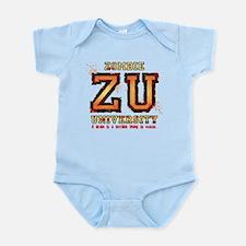 Zombie University dark Infant Bodysuit