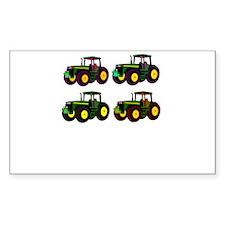 4 tractor fun Decal