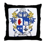 MacLarty Coat of Arms Throw Pillow