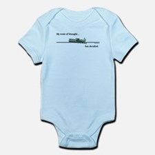 Train of Thought Infant Bodysuit