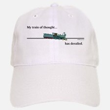 Train of Thought Baseball Baseball Cap