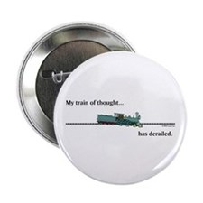 """Train of Thought 2.25"""" Button"""