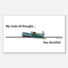 Train of Thought Decal