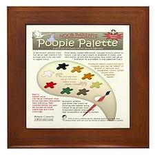 poopie-apparel-CP.png Framed Tile