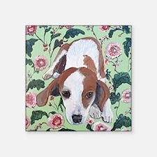 """""""Beagle"""" Square Sticker 3"""" x 3&quot"""